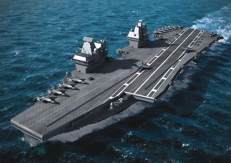 Simulator helps design Royal Navy future aircraft carriers' flight deck | Royal Navy News | Scoop.it