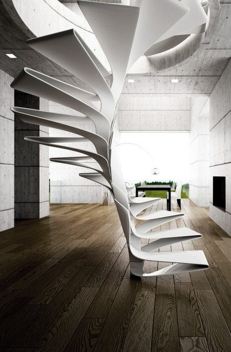 folio staircase | Disguincio&CO | architecture-info | Scoop.it
