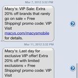 Le SMS un des media les plus efficaces pour créer du trafic en point de vente | M-CRM & Mobile to store | Scoop.it
