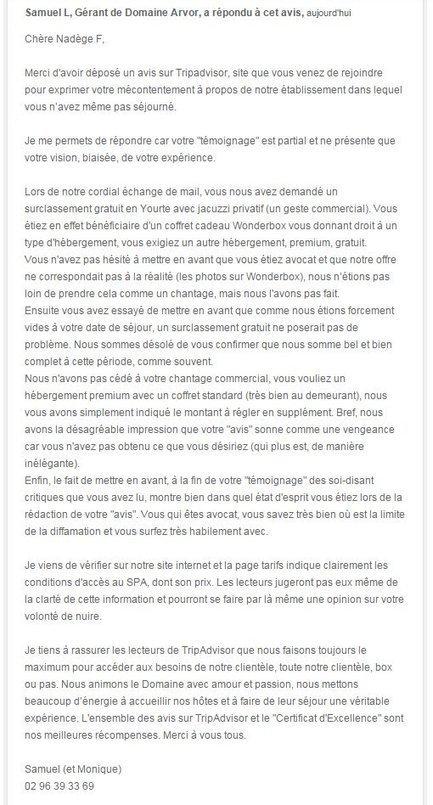 TripAdvisor: l'impossible dialogue | Management Numérique de Destination | Scoop.it