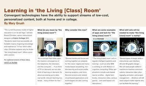 Learning in the Living [Class] room | Educational Technology - Yeshiva Edition | Scoop.it