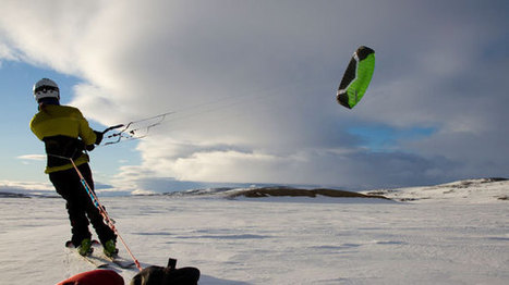 National Geographic Events - Kite Skiing the Northwest Passage | Outdoor Education | Scoop.it