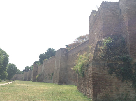 Finding gems along the Aurelian walls, Rome's ancient ramparts | Res Technicae | Scoop.it