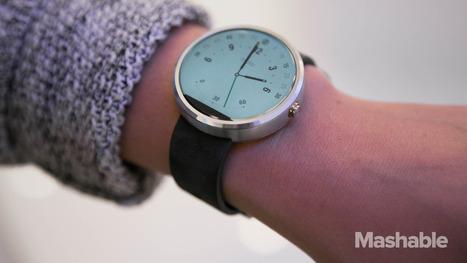 Motorola's new Moto 360 smartwatch leaks on Twitter | Mobile Technology | Scoop.it