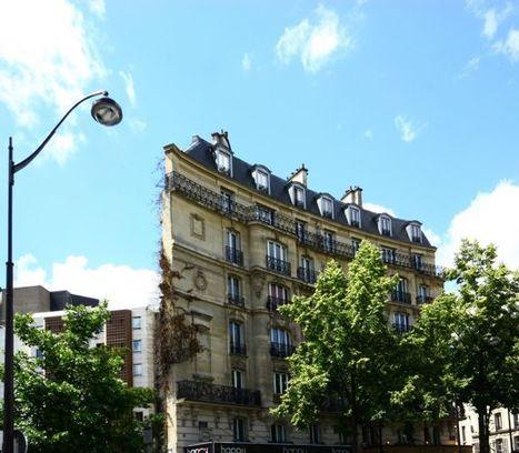 À quoi ressemblent les façades d'immeubles les plus fines de Paris ? | Immobilier | Scoop.it