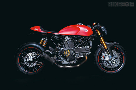 Louis75 Jubiläumsbike Ducati Custom | Ductalk Ducati News | Scoop.it