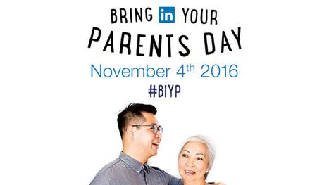 How Inviting Your Employees' Parents into the Office Can Improve Engagement | All About LinkedIn | Scoop.it
