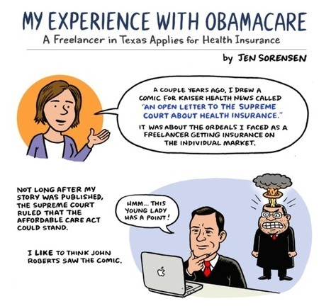 A Freelancer in Texas Applies for Health Insurance, by Jen Sorensen | Freelance and translation | Scoop.it
