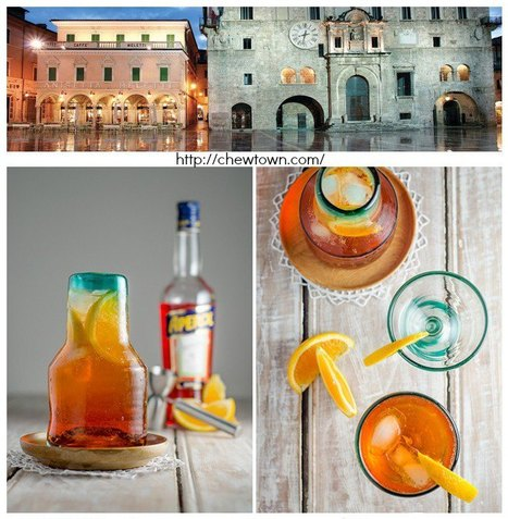 Ascoli Piceno, Caffè Meletti and the Aperol Spritz Recipe | Le Marche and Food | Scoop.it