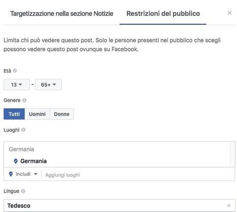 Come gestire una pagina Facebook con fan che parlano lingue diverse | Web Marketing Efficace | Facebook Daily | Scoop.it