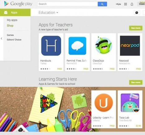 How to Find Curated Content in Google Play for Classroom Use   Edudemic   Linking Literacy & Learning: Research, Reflection, and Practice   Scoop.it