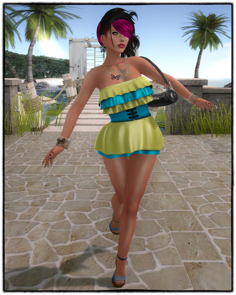 .:* SL Free for All *:.: *☼.。.Colorful Summer ! .。.☼* | CHICS & FASHION | Scoop.it