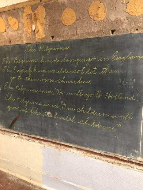 Hidden Behind Chalkboards, This School Found A 100 Year Old History Treasure! | HCS Learning Commons Newsletter | Scoop.it
