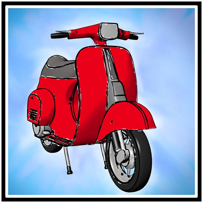 Blender: Freestyle render engine by Filippo Veniero | Machinimania | Scoop.it