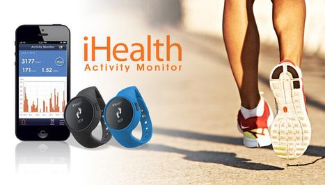 Mide tu actividad y tu sueño con iHealth Monitor | Noticias Wearables | Scoop.it