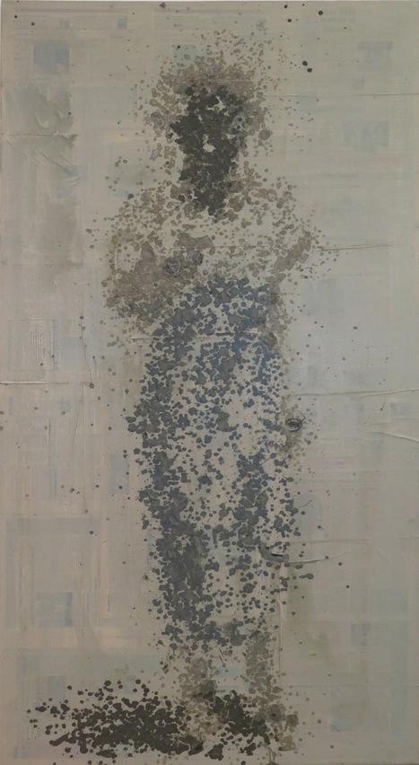 Yéanzi, jeune artiste ivoirien en pointillé   Galerie Cécile Fakhoury - Abidjan   Scoop.it