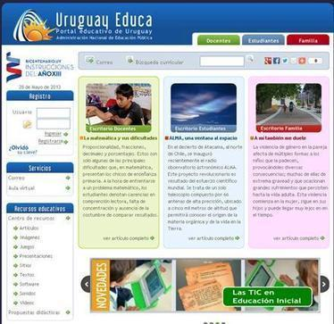 Portal Educativo Uruguay Educa difunde su espacio - El Acontecer Diario | Blogs educativos generalistas | Scoop.it