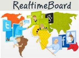 Realtimeboard: Online realtime samenwerken + overleggen + presenteren. | Digitale borden | Scoop.it