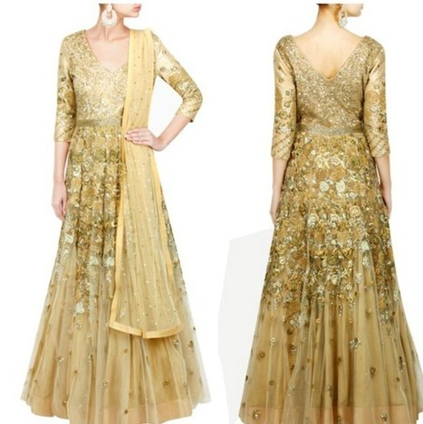 Varun Bahl Latest Anarkali Dresses Designs | Live Style Vogue | stylish lawn dresses | Scoop.it