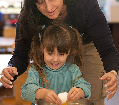 Batter Up! Cooking with Children | Learn through Play - pre-K | Scoop.it