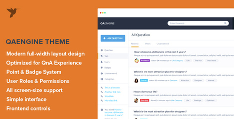 QAEngine v2.0.7.1 – Question and Answer WordPress ThemeThemes24x7 – Free Premium Blogger and Wordpress Templates | WordPress And Blogger Theme | Scoop.it