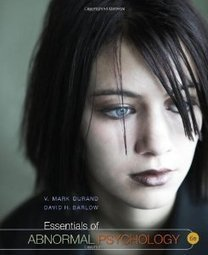 Test Bank For » Test Bank for Essentials of Abnormal Psychology, 6th Edition : Durand Download | Abnormal psych class | Scoop.it