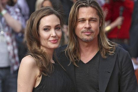Brad Pitt et Angelina Jolie - Un voyage de noces en famille | Carrefour | Scoop.it