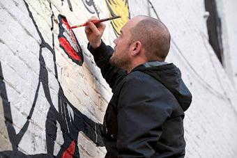 D*Face, le street art subversif à la sauce pop art | tANkRed | Scoop.it