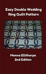 Second Edition of Easy Double Wedding Ring Quilt Pattern Book Released | | Double Wedding Ring Quilts and Quilting | Scoop.it