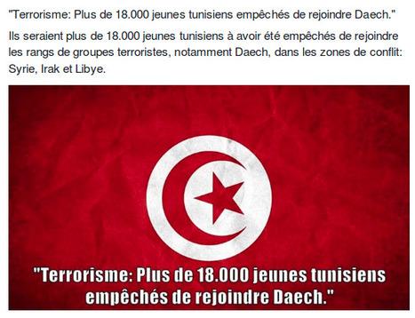 Terrorisme: Plus de 18.000 jeunes tunisiens empêchés de rejoindre Daech | Actualités Afrique | Scoop.it