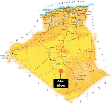 Randonnée chamelière dans l'adrar Ahnet   Les déserts dans le monde   Scoop.it