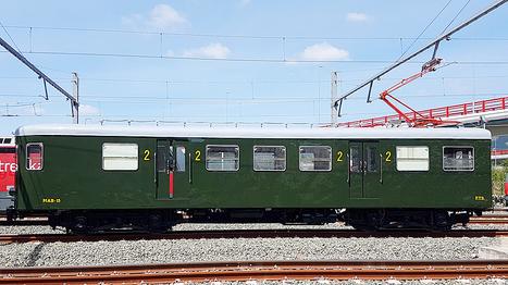 Restaurado el MAB-15 parael Museo Vasco del Ferrocarril | Caminhos de Ferro Vale da Fumaça | Scoop.it