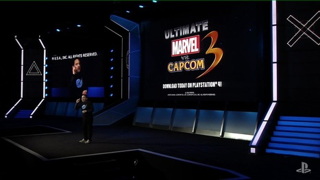 Ultimate Marvel vs. Capcom 3 available today on PlayStation 4   something to look out for   Scoop.it