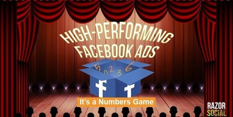 High-Performing Facebook Ads: It's a Numbers Game - Social media and content marketing technology | Public Relations & Social Media Insight | Scoop.it