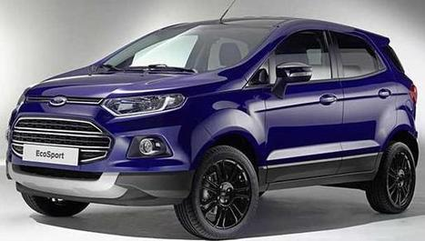 Ford Showcases EcoSport Facelift and the SUV to come with certain changes news - ecardlr | Search new cars by price, make and model and buy new cars with best deals | Scoop.it