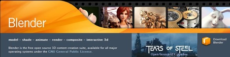 Blender - create interactive 3D | Digital Presentations in Education | Scoop.it