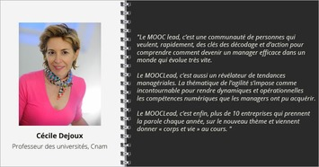 "Interview Cécile Dejoux, MOOC ""Du manager au leader agile"" 