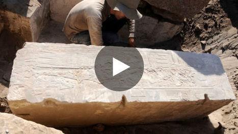 Des archéologues découvrent des traces rares d'Hatchepsout, première femme pharaon d'Egypte | Aux origines | Scoop.it