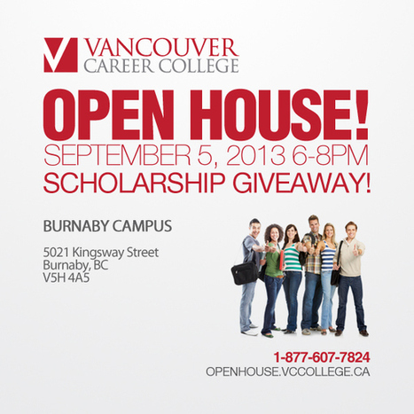 Vancouver Career College Open House in Burnaby, BC | Vancouver Career College | Scoop.it