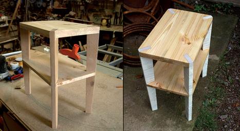 Decale - Bedside Table by Allan George » Yanko Design | Culture scientifique et TIC | Scoop.it