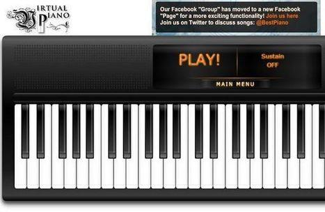 Virtual Piano, aprende a tocar el piano 'online' y a componer tus propias melodías | guitarra acustica | Scoop.it
