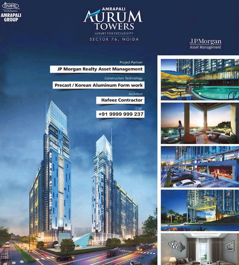 Amrapali Aurum Towers - Sector 76 Noida | nofrillsdeal | Scoop.it