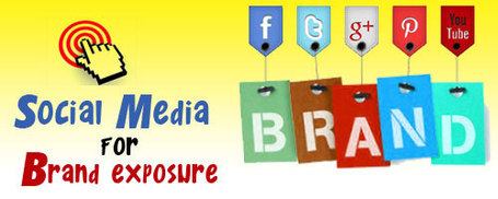 Using Social Media for Brand Exposure | How to Social Media 101 | Scoop.it