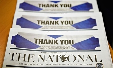 Scotland's National newspaper is here to stay - The Guardian | My Scotland | Scoop.it