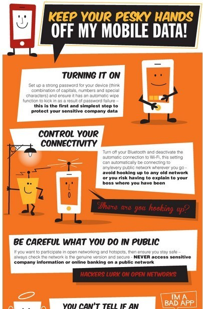 Keep Your Pesky Hands Off my Mobile Data! [Infographic] | Educational technology | Scoop.it
