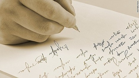Has technology ruined handwriting? | Edu's stuff | Scoop.it