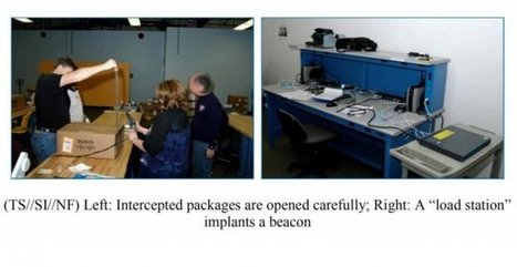 """Photos of an NSA """"upgrade"""" factory show Cisco router getting implant   News from the Internet Underground   Scoop.it"""