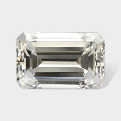 White Color Emerald Cut Diamonds in Washington WA | Loose Diamonds | Scoop.it