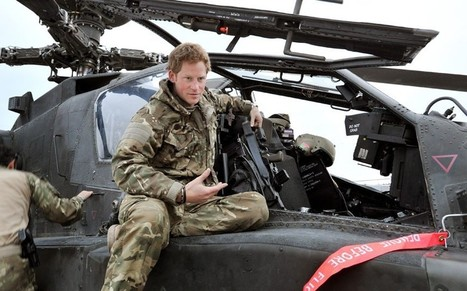 I've killed Taliban fighters, says Prince Harry | The Indigenous Uprising of the British Isles | Scoop.it