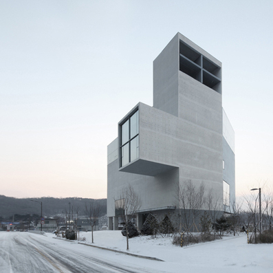 [Byeollae, South Korea] Nameless Architecture adds concrete church to growing Korean town | The Architecture of the City | Scoop.it